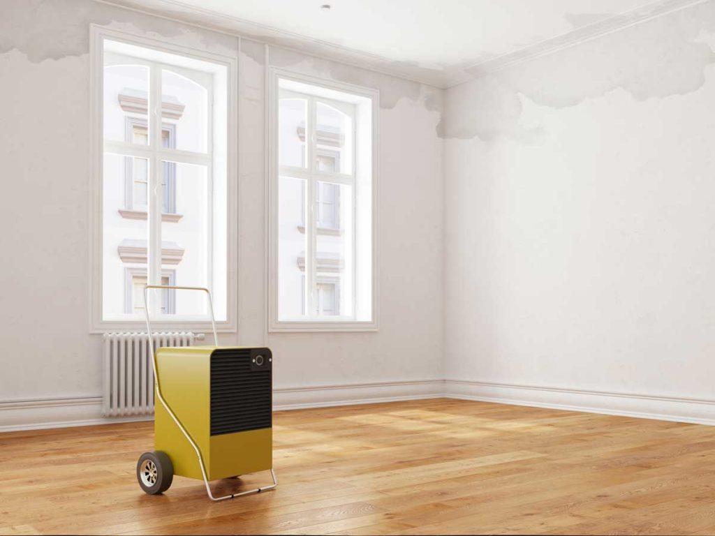 Bautrockner im Raum